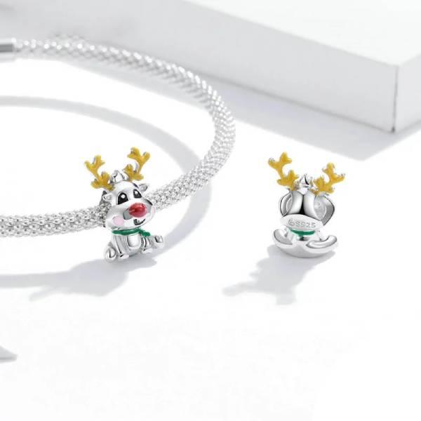 Bracelet Reine de Noël en Argent