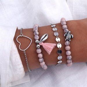 Ensemble bracelet bohème